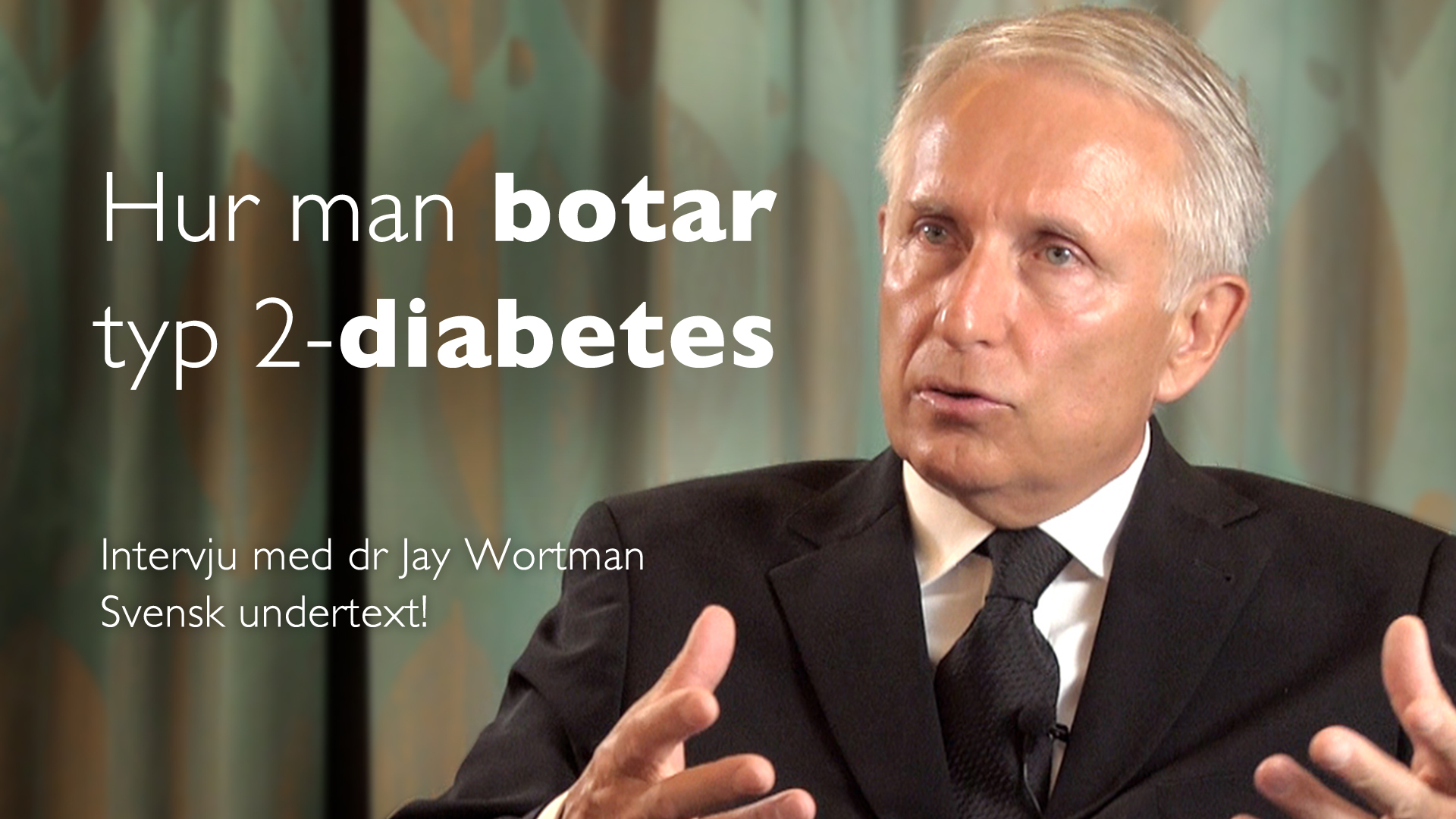 Så reverserar man typ 2-diabetes – Jay Wortman