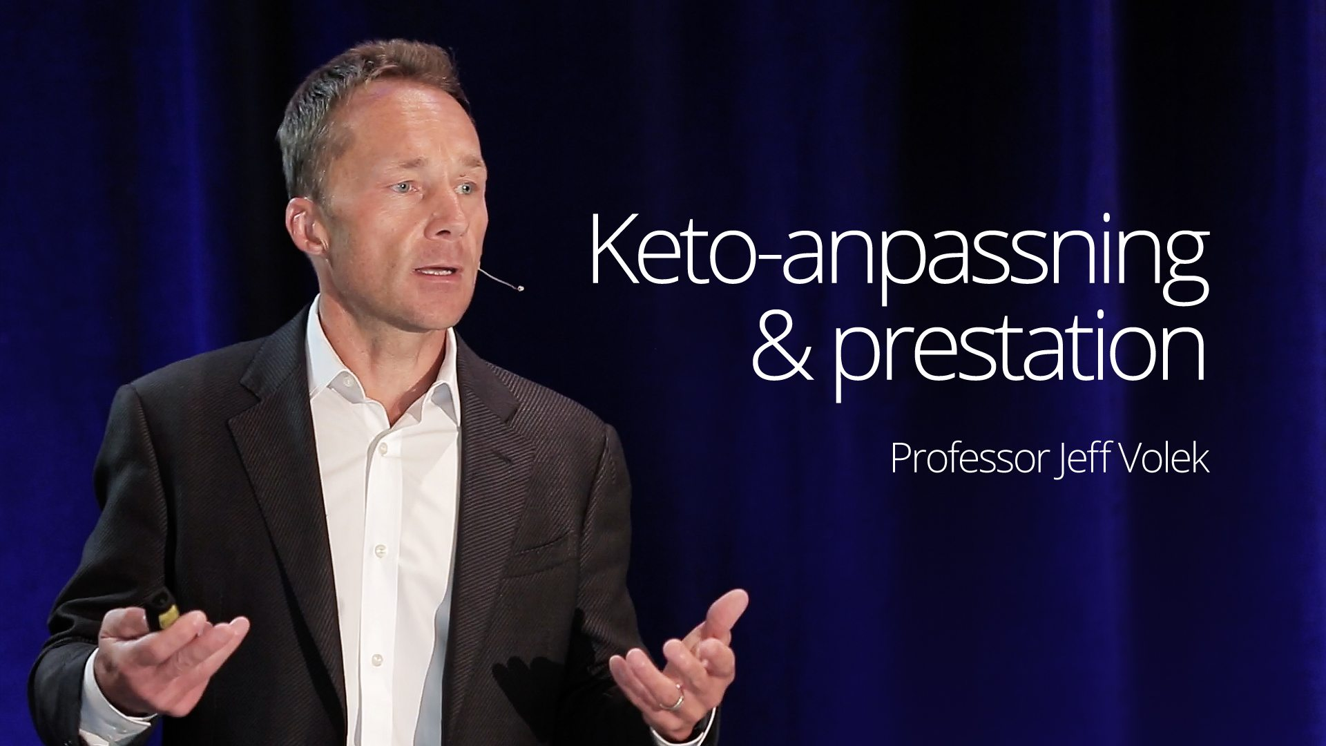 Dr Jeff Volek - Keto-Adaptation and Performance (SD 2016)